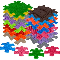 Orthopädische Fußmatten für Kinder Muffik XXL-Set aus 19 Elementen