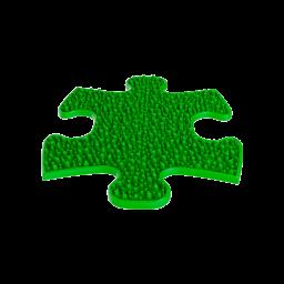 Strukturmatte Gras-mini mit harter Oberfläche in Grün