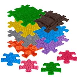 Orthopädische Strukturmatten Muffik Basic Set -2 - 11 Teile für taktile Wahrnehmung