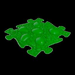 Strukturmatte Dino Eier mit weicher Oberfläche in Grün