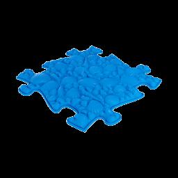 Strukturmatte Muscheln mit weicher Oberfläche in Blau