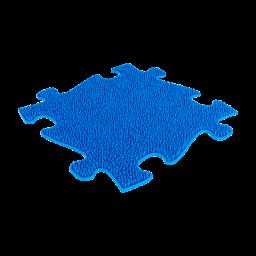 Strukturmatte Gras mit weicher Oberfläche in Blau