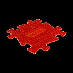 Strukturmatte Muffik mit harter Oberfläche in Rot